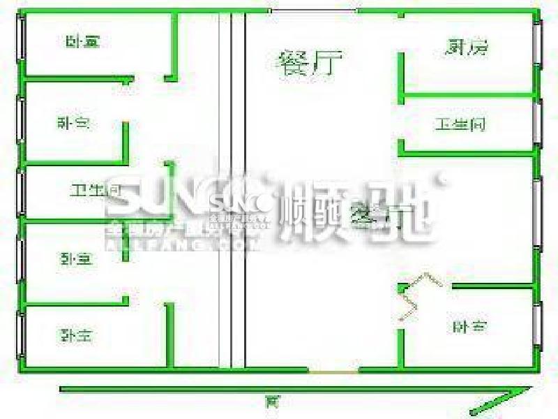 别墅平面图设计图纸高清展示